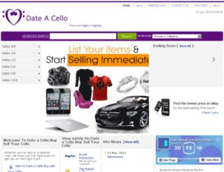 dateacello.com screenshot