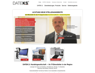 dateks.de screenshot