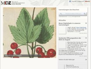 daten.digitale-sammlungen.de screenshot