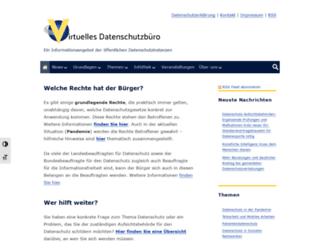 datenschutz.de screenshot
