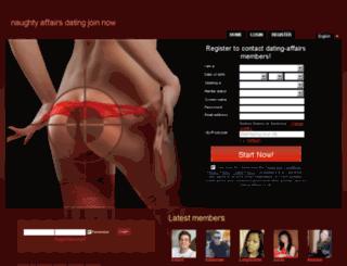 dating-affairs.co.uk screenshot
