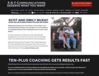 dating-coaches.com screenshot