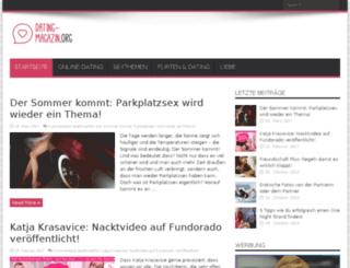 dating-magazin.org screenshot