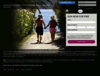 dating-senior.net screenshot
