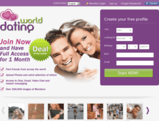dating-world.org screenshot