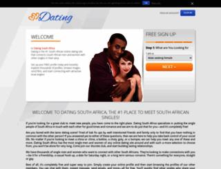 dating.co.za screenshot