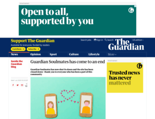 dating.guardian.co.uk screenshot