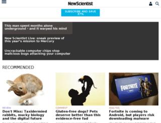 dating.newscientist.com screenshot
