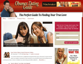 dating.obumex.com screenshot
