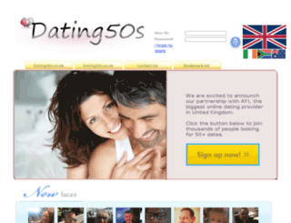 dating50s.co.uk screenshot