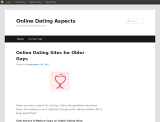 datingaspects.blog.com screenshot