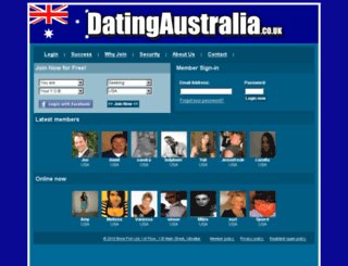 datingaustralia.co.uk screenshot