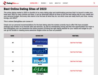 datingsites.com screenshot