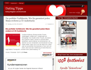 datingtipps.wlogs.de screenshot