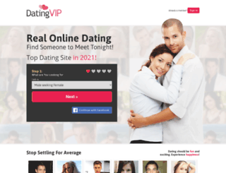 datingvip.com screenshot