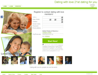 datingwithlove.co.uk screenshot