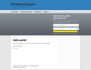 datmasteryprogram.com screenshot