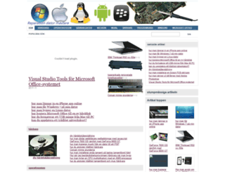 dator8.info screenshot