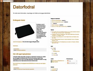 datorfodral.blogspot.com screenshot