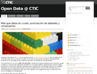 datos.fundacionctic.org screenshot