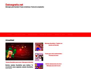 datosgratis.net screenshot