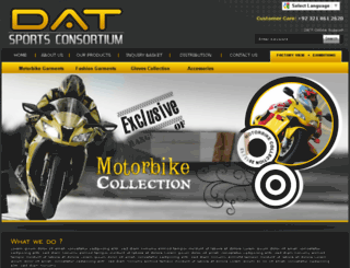 datsportsconsortium.com screenshot