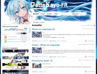 dattebayo-fr.com screenshot