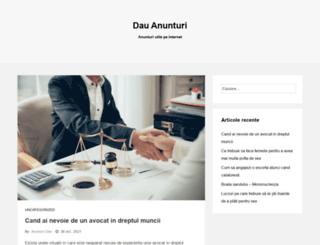 dauanunturi.ro screenshot