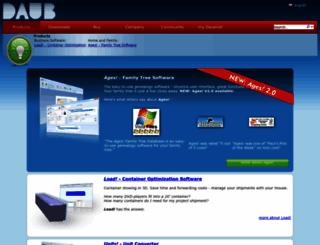 daubnet.com screenshot