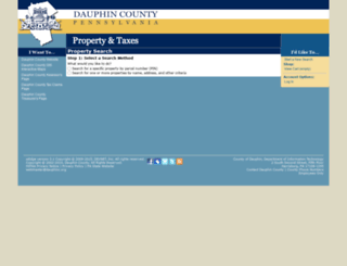 dauphinpropertyinfo.org screenshot