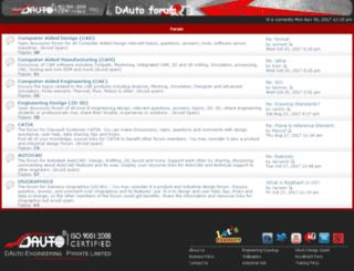 dautoforum.dauto.co.in screenshot