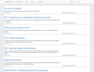 dauzon.com screenshot