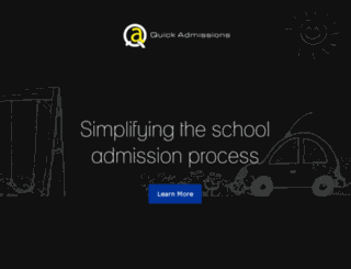 dav.quickadmissions.in screenshot