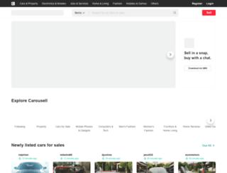 davaocity.olx.com.ph screenshot