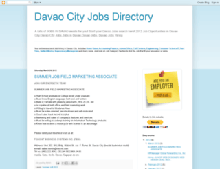 davaocityjobsdirectory.blogspot.com screenshot