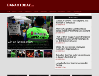 davaotoday.com screenshot