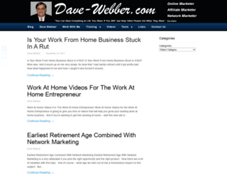 dave-webber.com screenshot