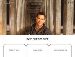davechristopher.com screenshot