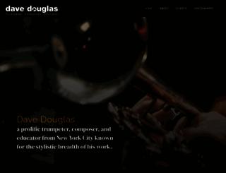 davedouglas.com screenshot