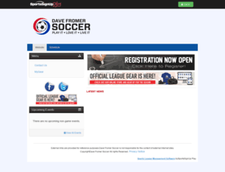 davefromersoccer.siplay.com screenshot