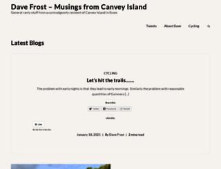davefrost.co.uk screenshot