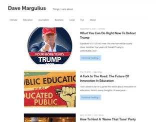 davemargulius.com screenshot