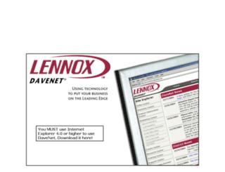 davenet.lennoxdavenet.net screenshot