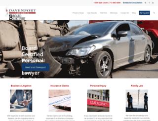 davenport-law.com screenshot