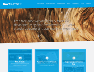 daverayner.com.au screenshot