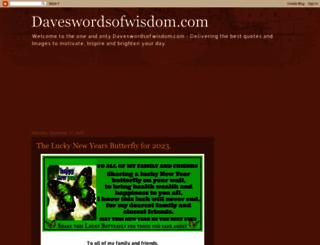 daves-words-of-wisdom.blogspot.com screenshot