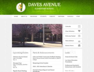 daves.lgusd.org screenshot
