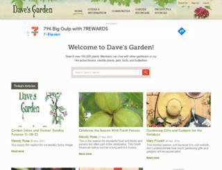 davesgarden.com screenshot