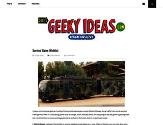 davesgeekyideas.com screenshot