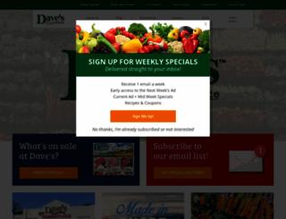 davesmarketplace.com screenshot